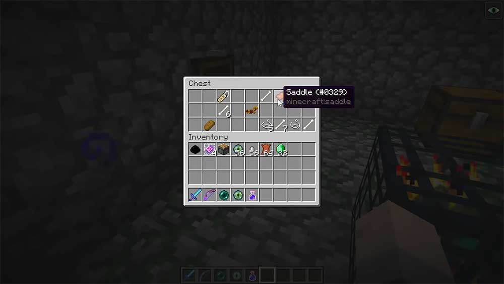 Tutorial How To Make A Saddle In Minecraft Gameseverytime